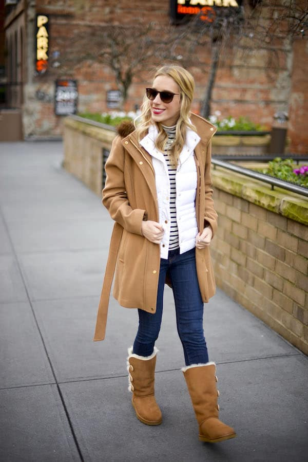 Ugg Bailey Button Boots Lilly Puffer Vest Katie S Bliss