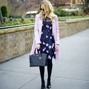 Styling A Business Casual Floral Dress Katie S Bliss