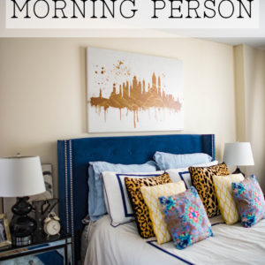 Easy Tips To Become A Morning Person