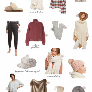 Cozy Holiday Gift Guide 2018