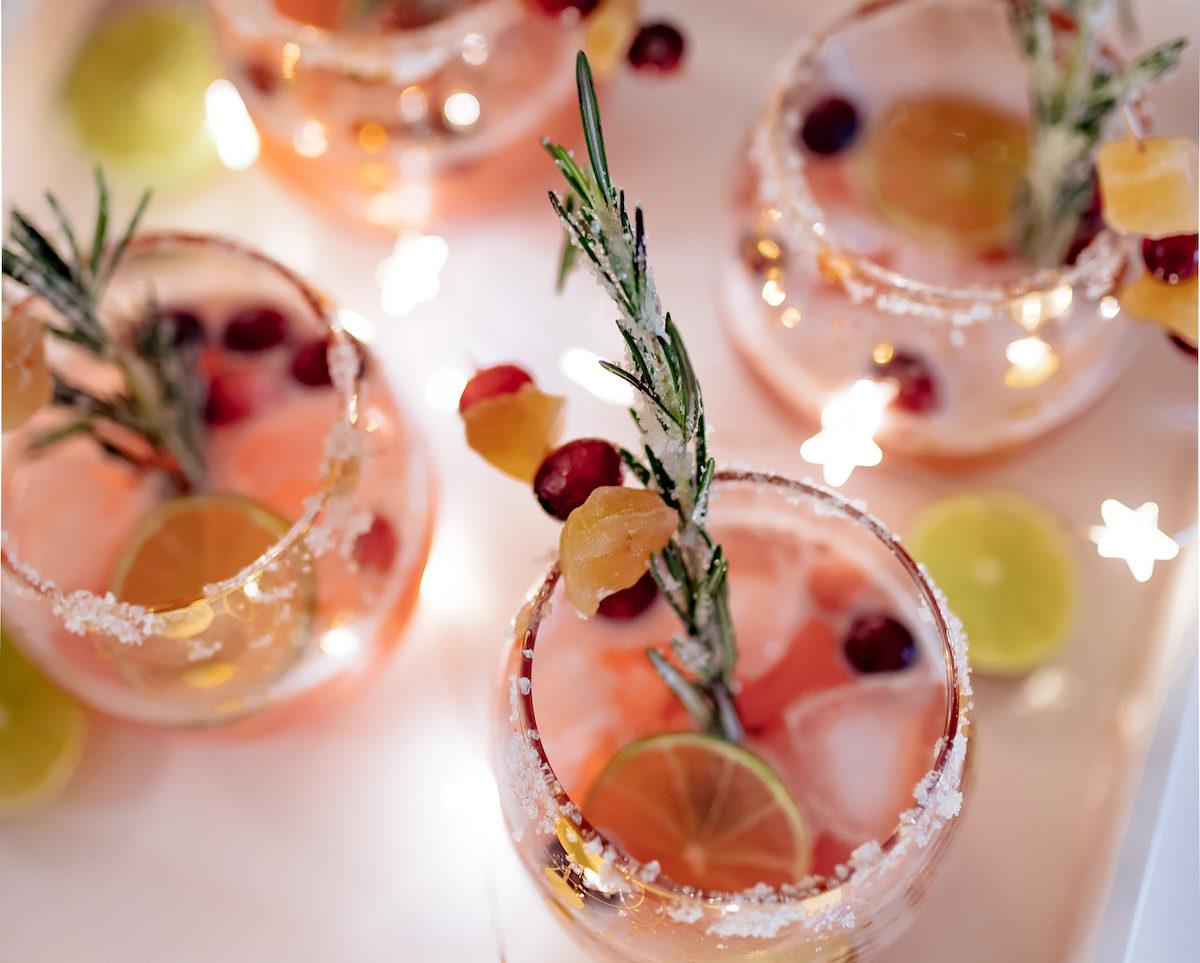 Cranberry Orange Holiday Margarita Recipe